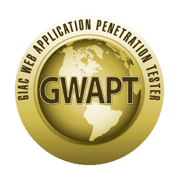 Certification GIAC GWAPT