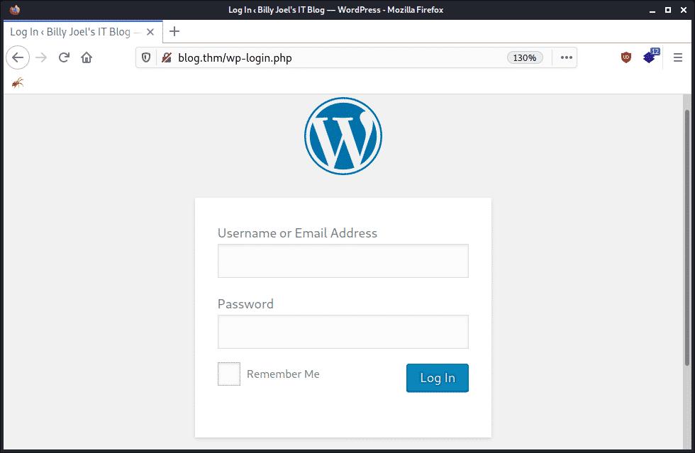 Vulnérabilité WordPress Attaque Force Brute